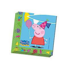 Servilletas Peppa Pig 33 x 33 cm, Pack 20 u.