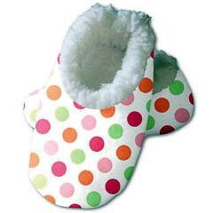 Zapatillas para bebé lunares 3-6 meses