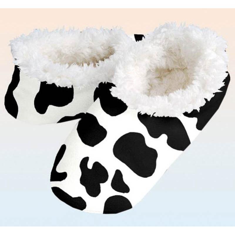 Zapatillas o Slippers para la casa modelo vaca T/36-37