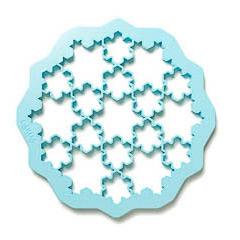Cortador de galletas 19 formas en uno, copos de nieve