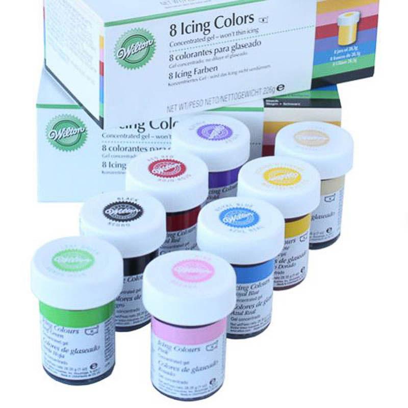 Set colorantes para glaseado Wilton