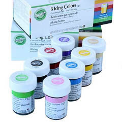 Set colorantes para glaseado Wilton