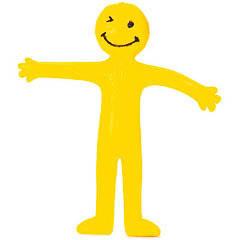 Muñeco plástico sonrisitas piñata