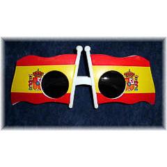 Gafas bandera de España