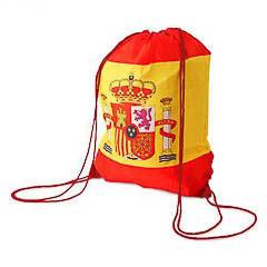 Bolsa mochila bandera de España