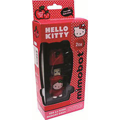 Memoria USB Hello Kitty roja