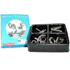 Juego Puzzle nudos metal