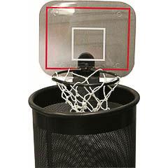 Canasta baloncesto para papelera con sonido