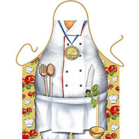 Delantal de cocina divertido, gracioso, Master Chef