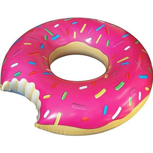 Flotador gigante Donuts rosa