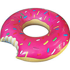 Flotador gigante Donuts rosa - Ítem