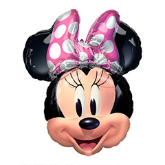 Globo cara Minnie Mouse