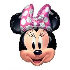 Globo cara Minnie Mouse