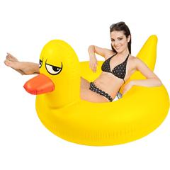 Flotador gigante modelo pato