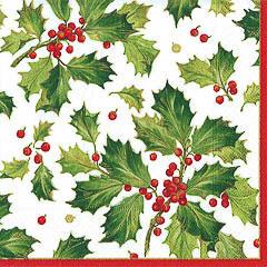 Pack 20 servilletas Navidad 40 x 40 cm