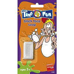 Jabón que mancha, broma