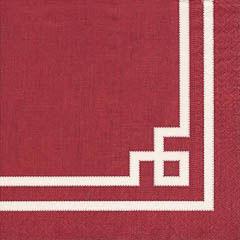 Servilletas Rojo Navidad 25 x 25 cm, Pack 20 u.