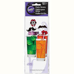 Pajitas Halloween, Pack 10 u.