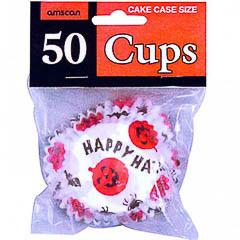Pack de 50 cápsulas cupcakes Happy Halloween