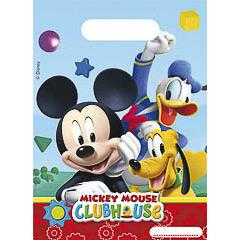 Bolsas de plástico Mickey Mouse piñata, Pack 6 u.