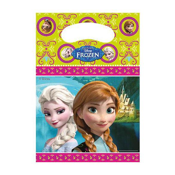 Bolsas de plástico Frozen piñata, Pack 6 u.