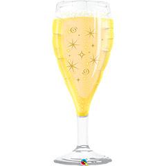 Globo forma Copa de Champagne o Cava