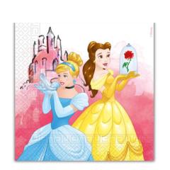 Servilletas Princesas 33 x 33 cm, Pack 20 u.