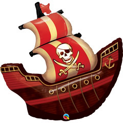 Globo barco pirata