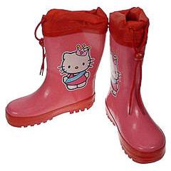 Botas de lluvia Hello Kitty infantiles nª 30