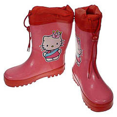 Botas de agua infantiles Nº 28 Hello Kitty
