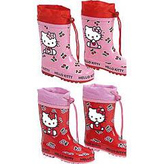 Botas de lluvia Hello Kitty infantiles nª 32