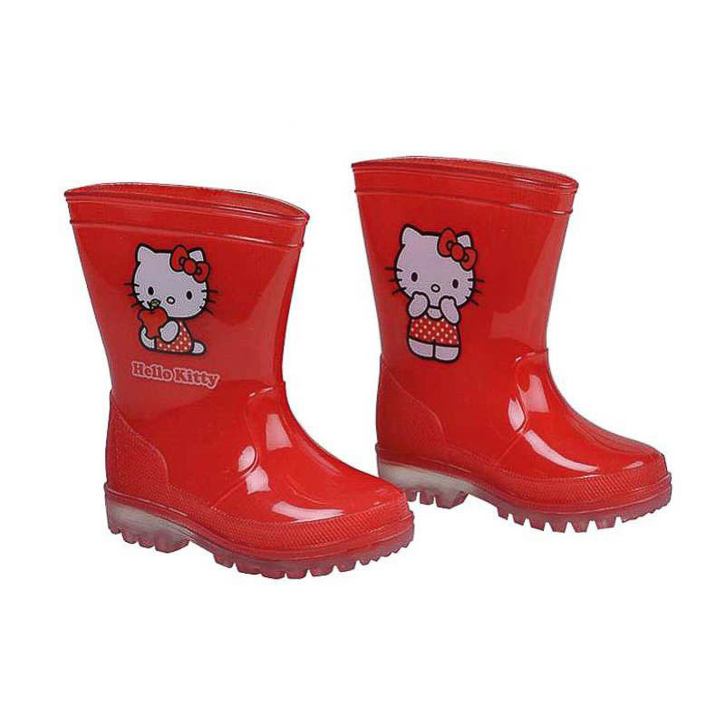 Botas de lluvia Hello Kitty infantiles Nº 22
