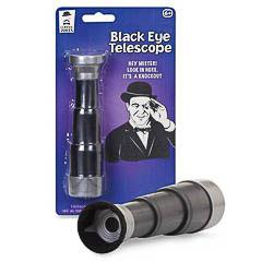 Telescopio mancha el ojo, broma