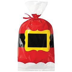 Bolsas Cinturón Papá Noel para golosinas y galletas, Pack 20 u.
