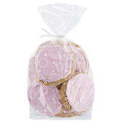Bolsas transparente con dibujos para golosinas y galletasv