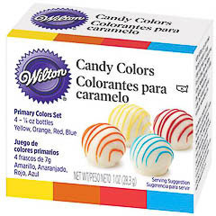 Set 4 colorantes Candy Melts Wilton
