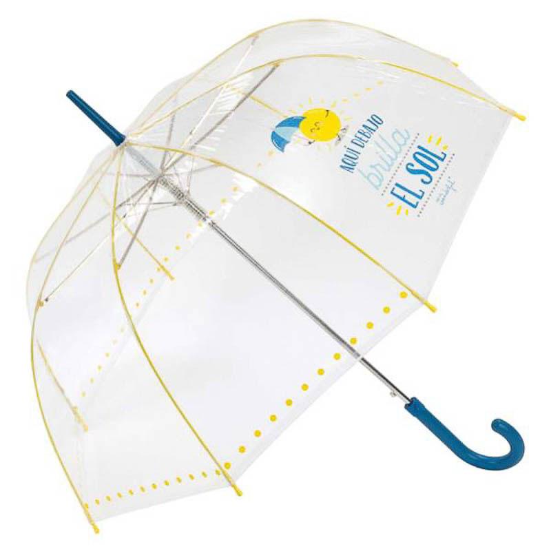 Paraguas Mr. Wonderful - Aquí debajo brilla el sol