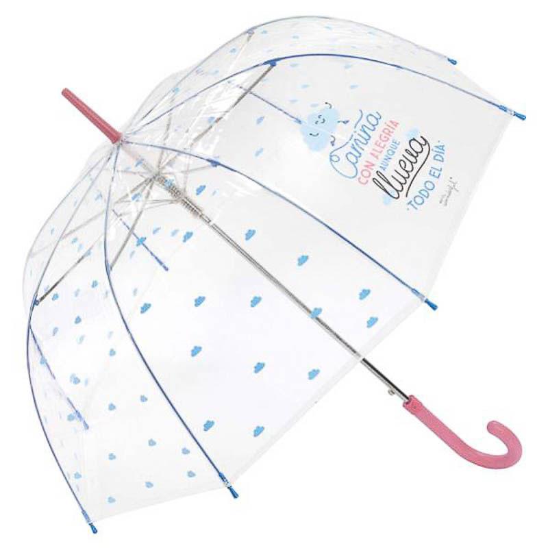 Paraguas Mr. Wonderful - Nunca se ríe o se baila lo suficiente
