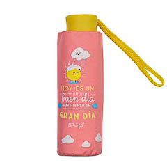 Paraguas Mr.Wonderful plegable pequeño - Hoy es un buen día para tener un gran día