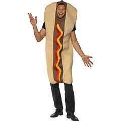Disfraz perrito caliente, hot dog