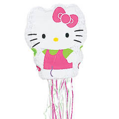 Piñata artesanalHello Kitty