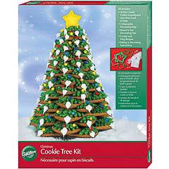 Set para montar árbol de Navidad 10 cortadores Wilton