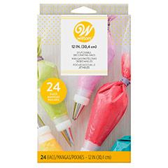 Pack 12 mangas pasteleras 30 cm un sólo uso Wilton