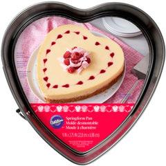 Molde tarta metal forma corazón demontable 23 cm