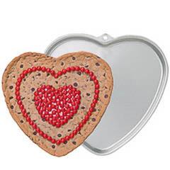 Molde corazón para galleta gigante