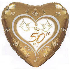 Globo Corazón 50 Aniversario