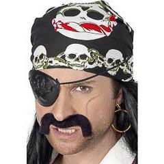 Pañuelo pirata talla única