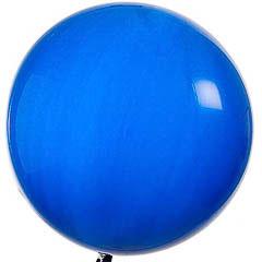 Globo de látex grande Azul 65 cm. 1 unidad