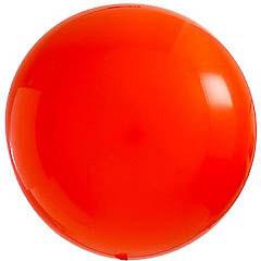 Globo de látex Naranja extra grande 80 cm. 1 unidad