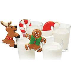 Set 4 cortadores Wilton figuras Navidad para enganchar en una taza